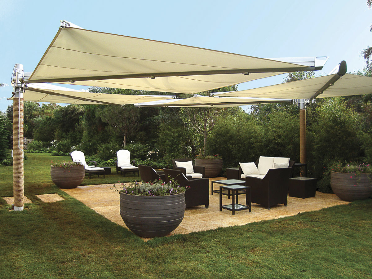 Tips To Maintain Shade Sails - All About Water on Shade Sail Backyard Ideas id=40448